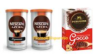 Logo Buoni sconto Nescafè Azera Espresso e Americano, Perugina Cacaco, Gocce e Gramblocco
