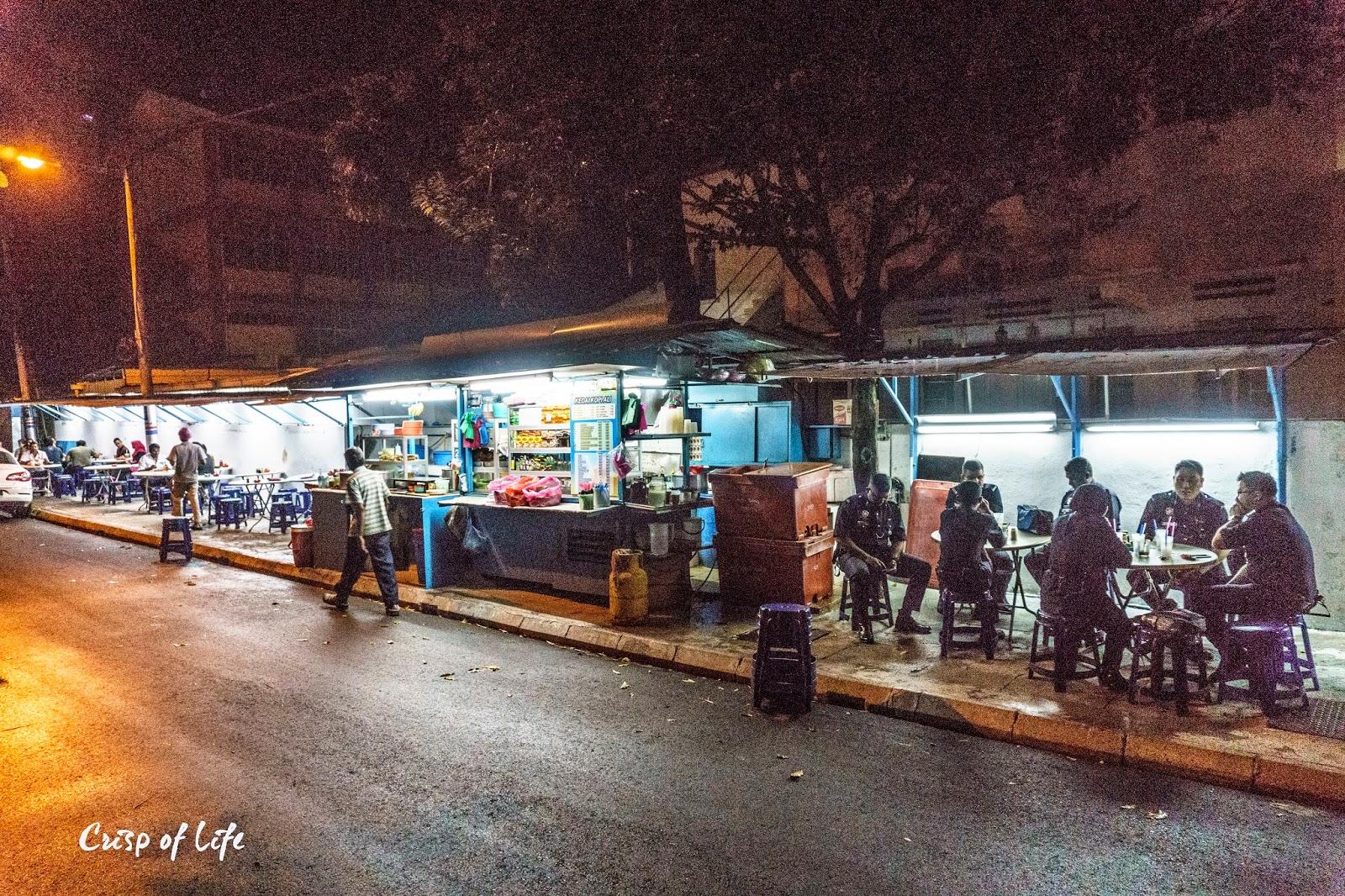Ali Nasi Lemak Goreng @ Jalan Lunas, Pulau Tikus, Penang Maggi Goreng Penang