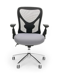 OFM Stratus Model 257 Big and Tall Mesh Back Office Chair