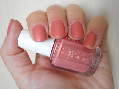 Essie Oh Behave! with matte finish