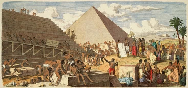 How The Egyptians Built The Pyramids Using Alchemy