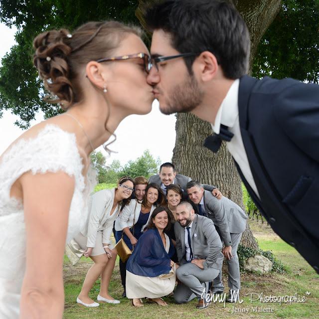 photo originale de groupes mariage, photo fun avec les copains