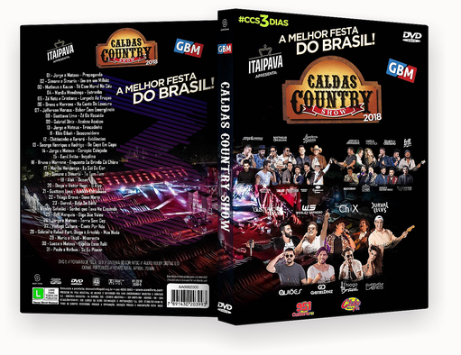 CAPA DVD – Caldas Country Show DVD-R