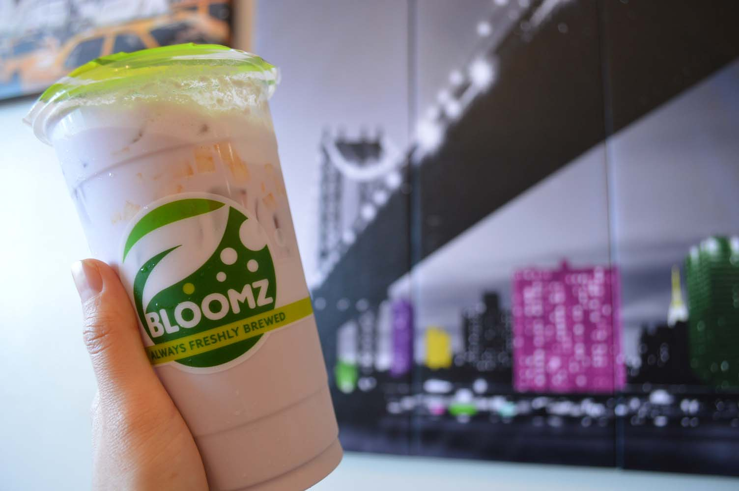 IT'S ALWAYS BREWED FRESH HERE @ BLOOMZ TEA - WESTMINSTER