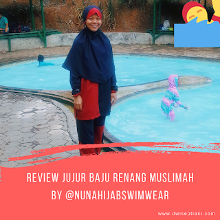baju renang muslimah nuna hijab swimwear