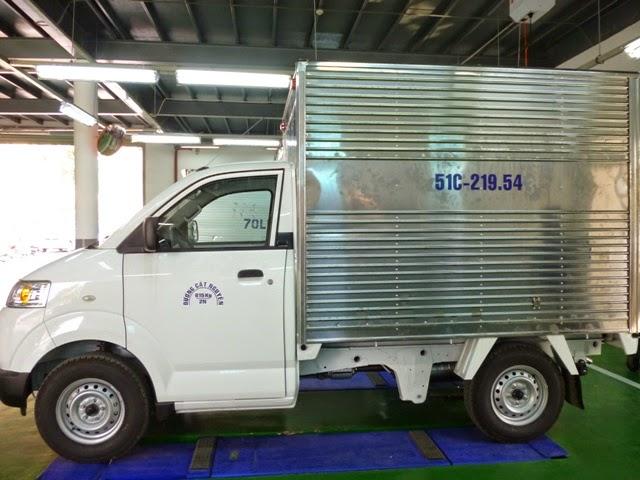 bán xe tải suzuki thùng kín 2