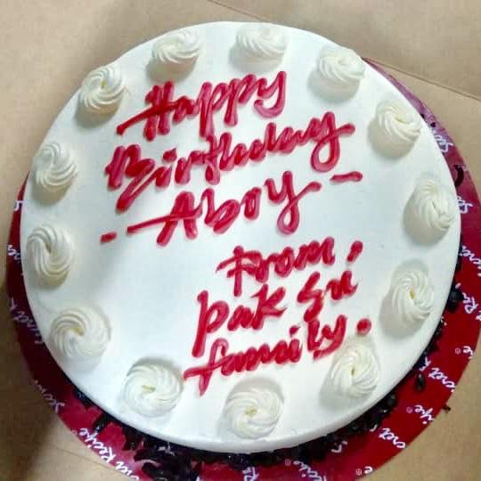 Red Velvet, Secret Recipe, Red Velvet Cake, Kek red velvet, kek secret recipe, birthday, happy birthday, birthday boy