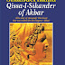 Sikandernama, Qissa-I- Sikander of Akbar – a work of imagination launched