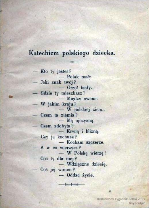 Ilustrowany Tygodnik Polski² Katechizm Polskiego Dziecka