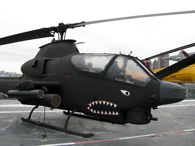 Bell AH-1G Huey Cobra attack helicopter pic
