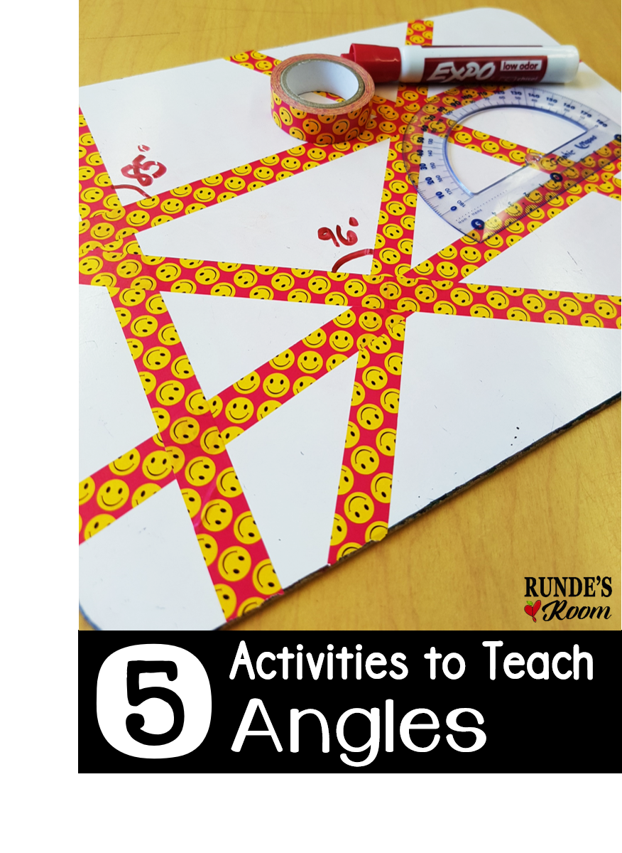 4th grade math lesson plans angles 1000 ideas about