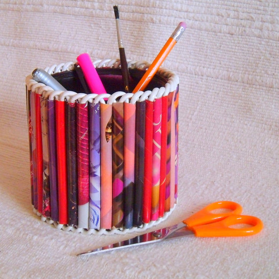 How to Recycle: Stunning Pen & Pencil Holder