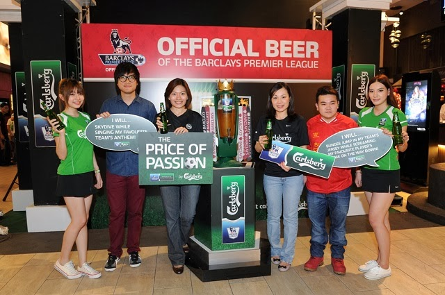 Carlsberg BPL Viewing Party & Price of Passion 2 Launch