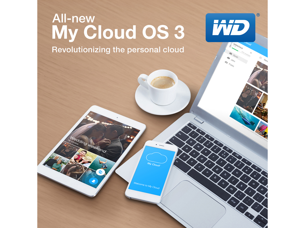 My Cloud OS 3