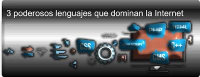 3 poderosos lenguajes que dominan la Internet