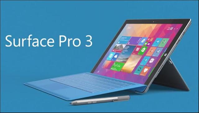 Microsoft anuncia o fim do Surface 3