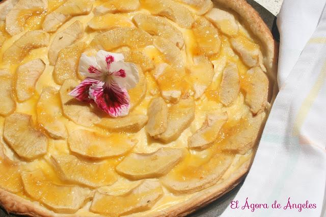 Tarta fina de manzana
