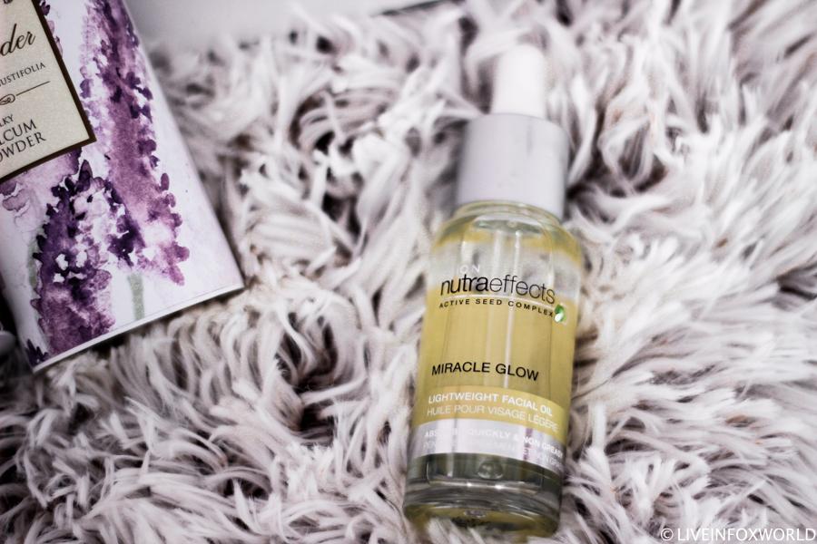 Ľahký pleťový olej Avon Nutraeffects Miracle Glow