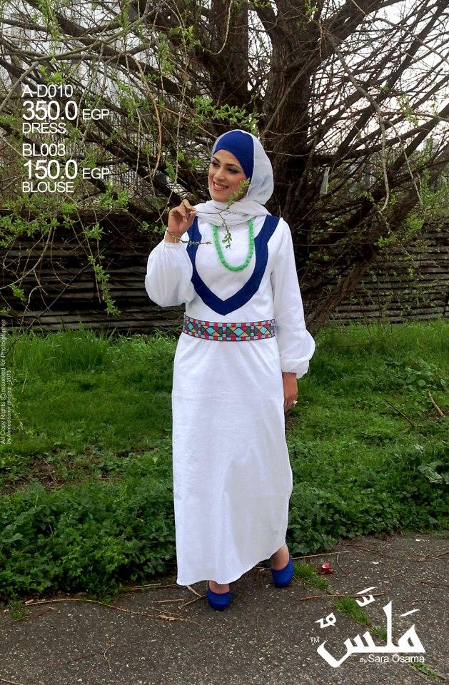 5d12e9ecc أزياء ملس للحجاب ربيع وصيف 2013 - girl style