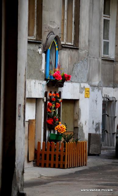 kapliczka Warszawa kamienica Praga Północ