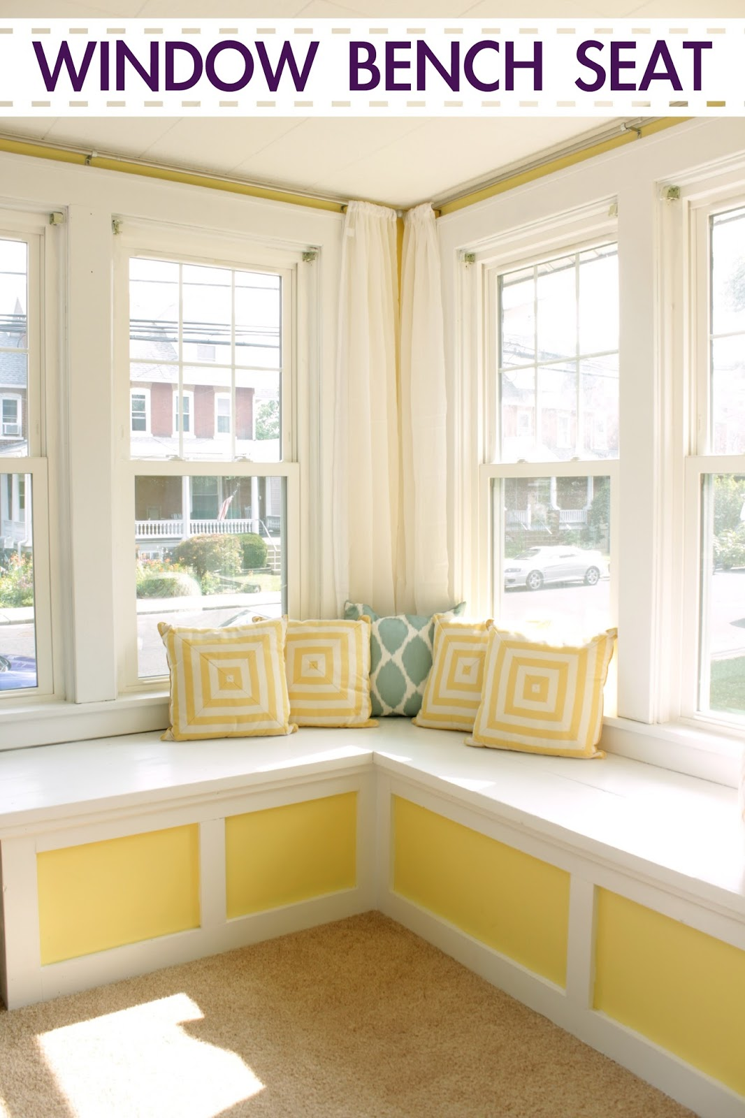 Dreary To Cheery Family Room Makeover