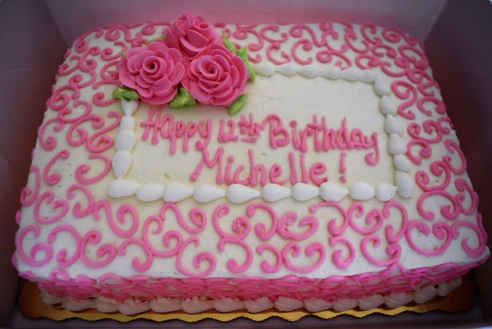 Publix Birthday Cake