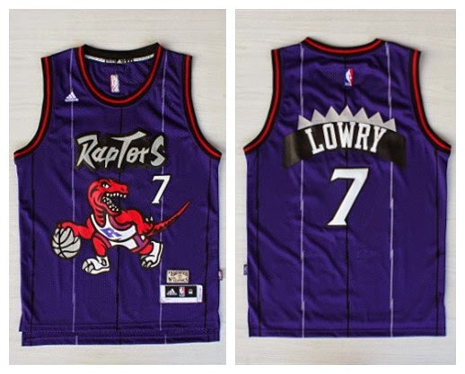 low priced d49c2 146c6 unboxingjerseys: Kyle Lowry #7 Toronto Raptors Purple ...