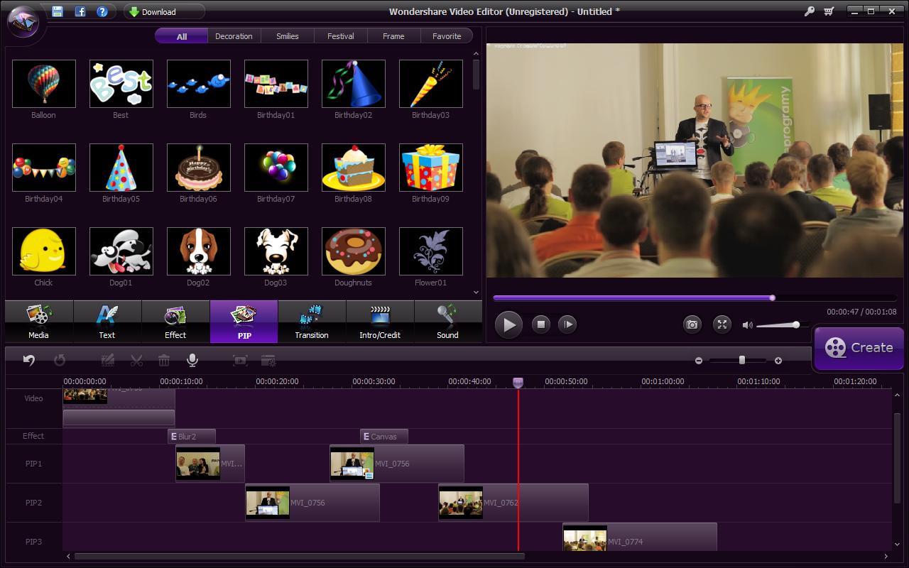 crack wondershare video editor