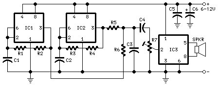 Car Horn circuit schematic with explanation : Schematics