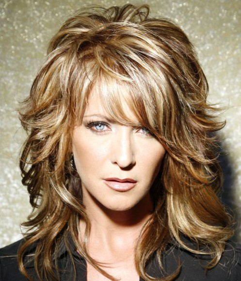 Curly Hair Style 2011 Long Wavy Hairstyles Long Layered Hairstyles For Thick Wavy Hair