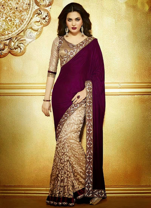 Divine Splendid Georgette Sarees Collection 2014 For Women