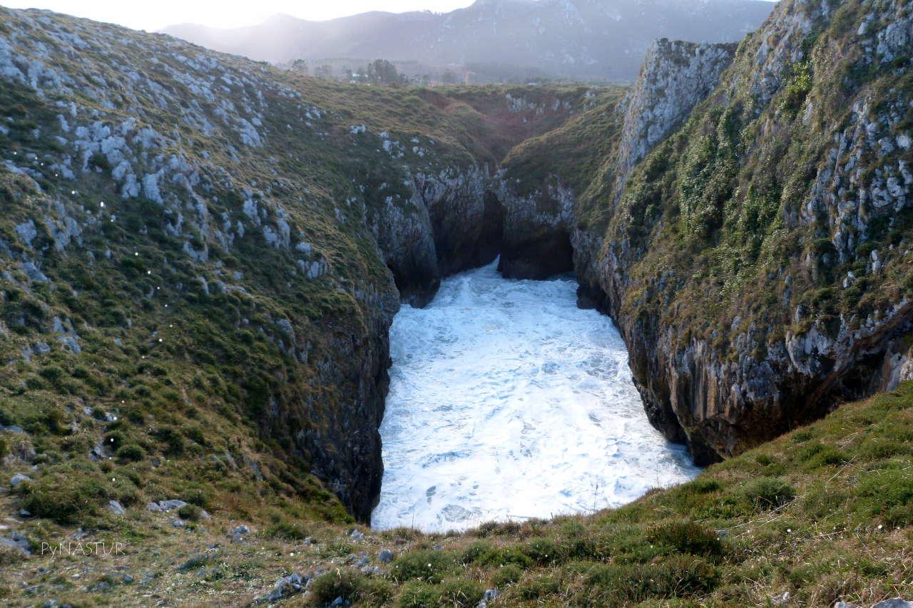 Senda Costera Bufones de Pría a Playa Cuevas del Mar - Asturias