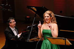 Anthony Manoli & Sondra Radvanovsky at Rosenblatt Recitals at Cadogan Hall (photo Jonathan Rose)