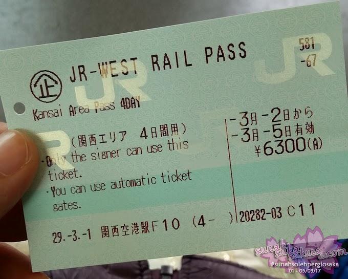 Jalan-jalan ke Osaka, Jepun - Hari Kedua