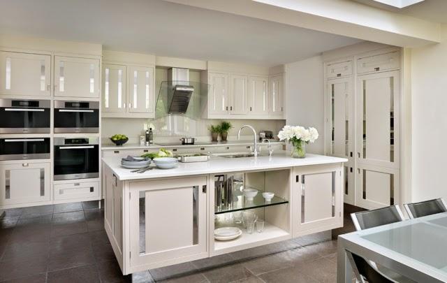 decoración cocina blanca