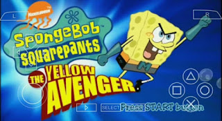 Spongebob SquarePants The Yellow Avenger ISO PPSSPP