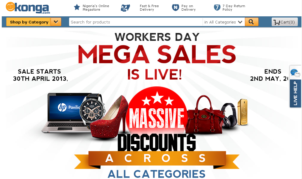 Konga online store