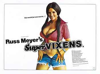 Supervixens (1975), un súper espectáculo de ritmo infernal e increíblemente divertida