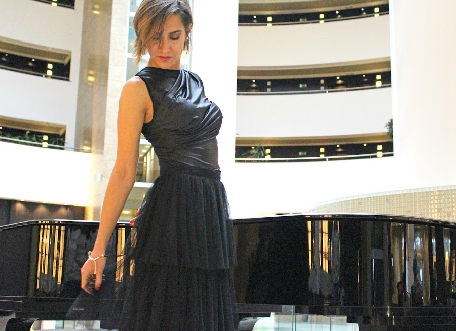 Fitness And Chicness-Casual And Glam Black-1