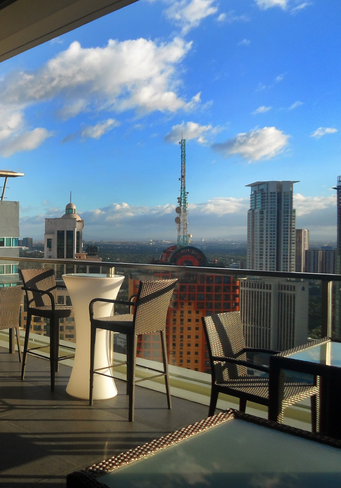 City garden grand hotel makes for a dazzling stay in for Terrace 33 makati