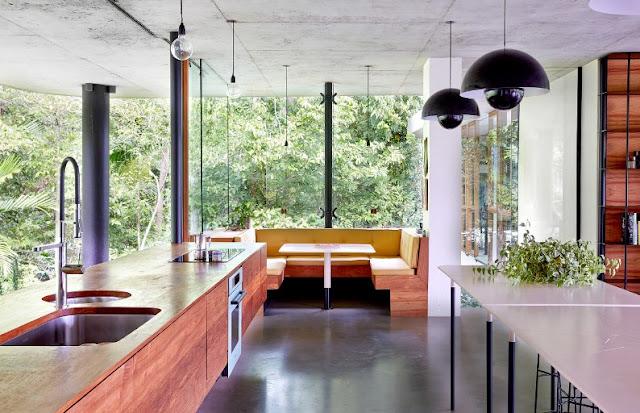 casa con interior vintage chicanddeco