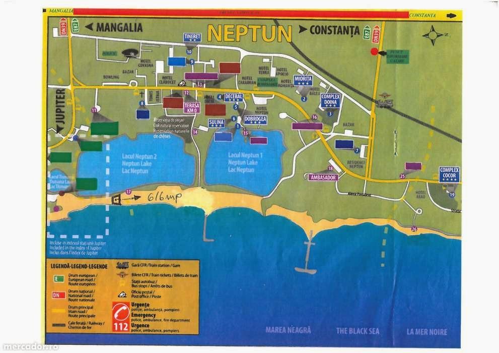 Vand teren plaja Neptun - Teren intravilan Neptun / Constanta