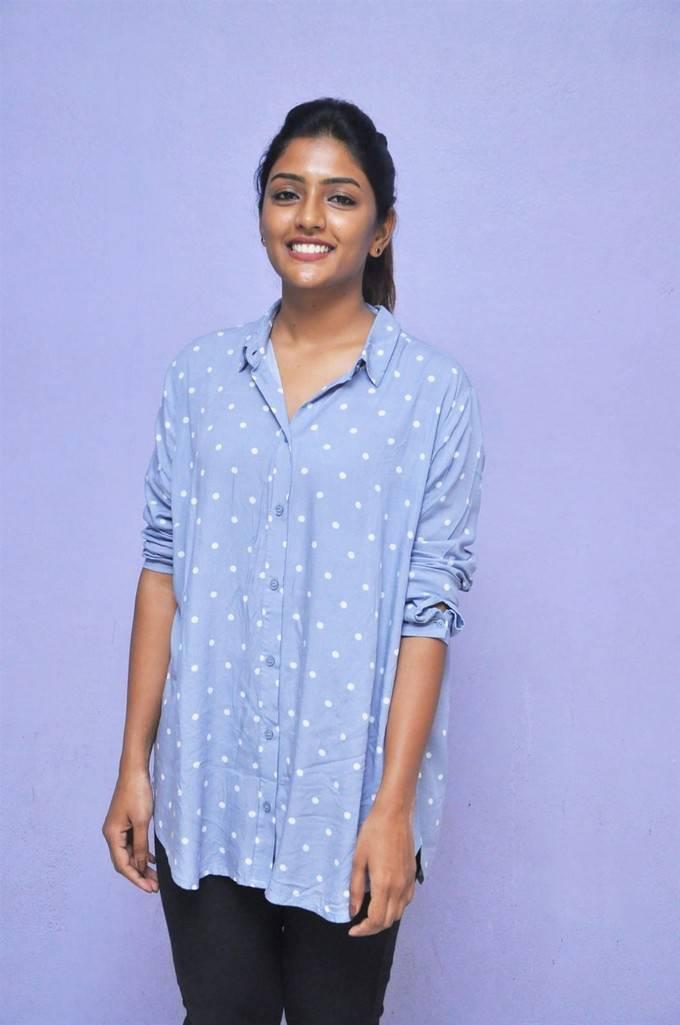 Eesha Photos At Darshakudu Movie Success Meet