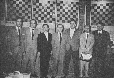 Componentes del Club Ajedrez Barcelona en 1964