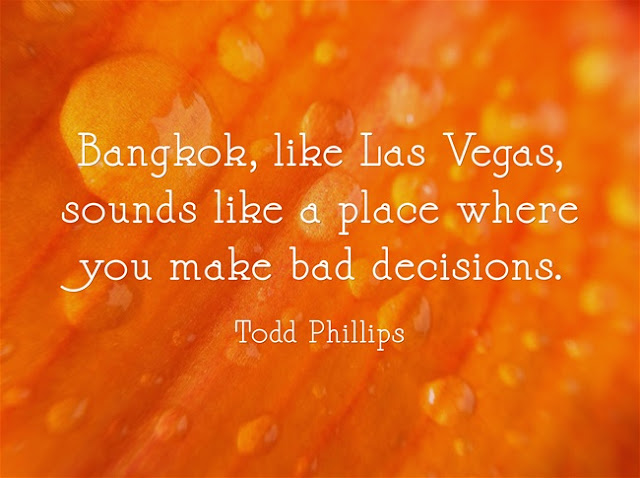 Quotes about Bangkok