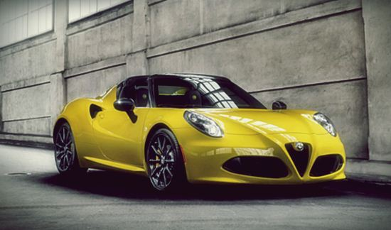 2017 alfa romeo 4c spider performance price car drive and feature. Black Bedroom Furniture Sets. Home Design Ideas