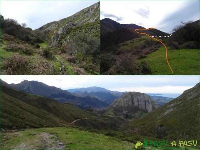 Sierra de la Cueva Negra: Del Valle de Pandás al Caserío de Peme