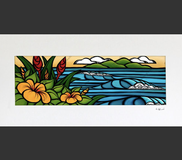 heather brown Hawaii surf artist