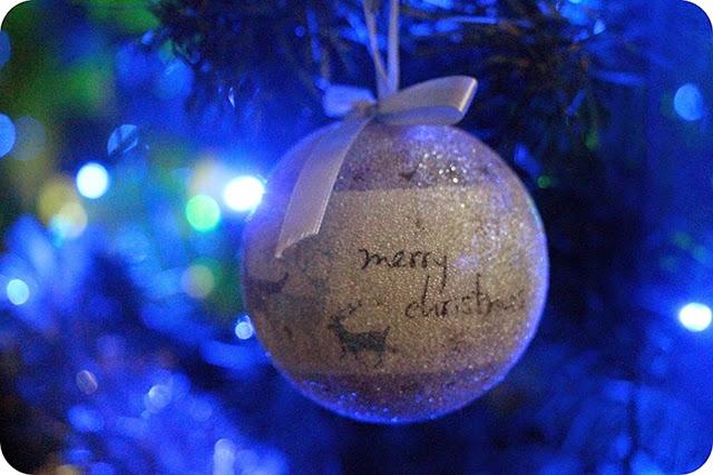 Árvore - Decoração e Mesa de Natal em Azul