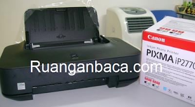 Printer Canon IP2770 Lampu Kedap Kedip Termudah